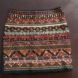 New h and m mini skirt